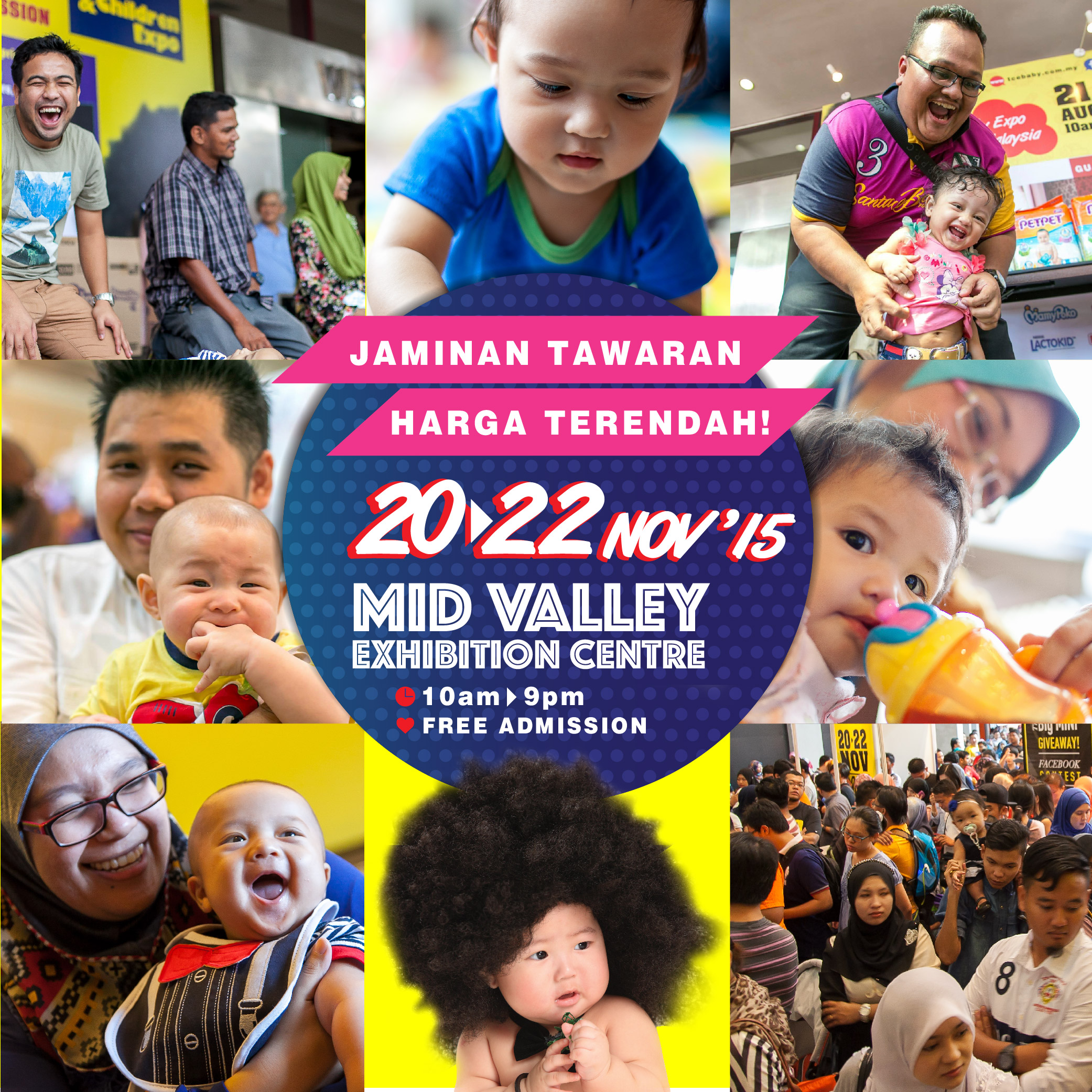 TCE Baby Expo_Lowest Price Guaranteed Deals_20-22 November 2015_Mid Valley Exhibition Centre