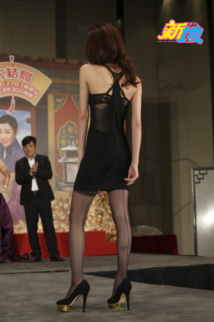 【哇,噴血啦~~】陳庭欣林夏薇《公公出宮》宣傳活動穿性感LACE搶鏡頭!網民:看到流鼻血啦!