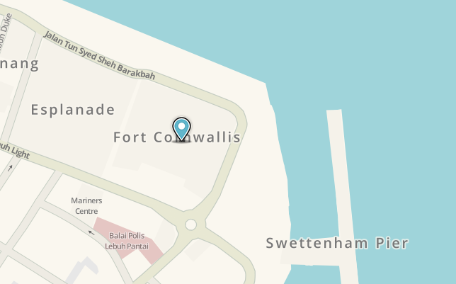 Fort Cornwallis Waze js1