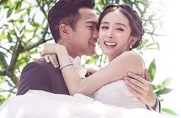 杨幂和刘恺威结婚2年屡传婚变。