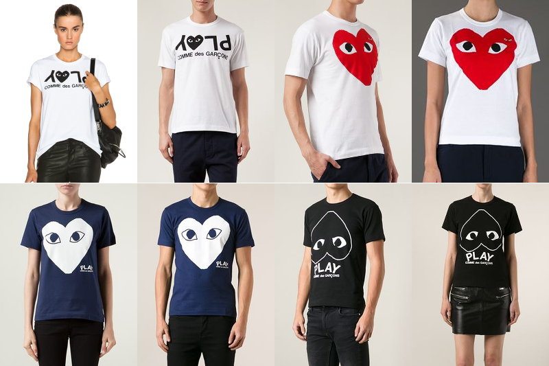 Comme-Des-Garcons-Play-shirts