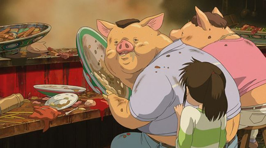 【我等这个真相等了15年!】为什么《千与千寻》里女主角的爸妈会变成猪?15年后官方终于解释了...1