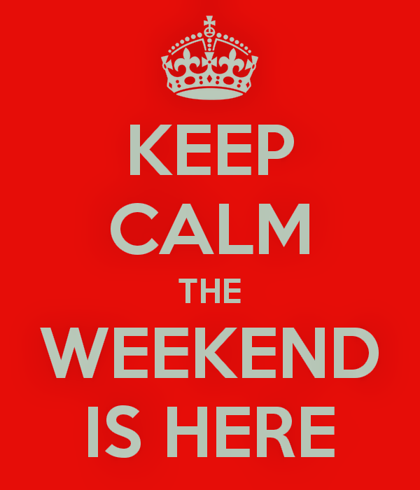 funny-pictures-humor-keep-calm-the-weekend-is-here