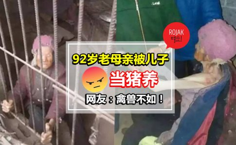 ◤佛都有火!◢不肖子不照顾92岁老母亲,还赶亲生母亲去住猪栏!?  网民: XX 小心有报应…