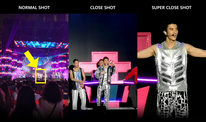 歌迷用P30 pro看王力宏演唱會,王力宏有如站在面前!沒vip也不會難過啦~~